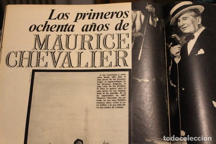 Coleccionismo de Revista Gaceta Ilustrada: GACETA ILUSTRADA 573 AÑO 1967 STALIN CHINA MAURICE CHEVALIER AUGER AMERICANOS RUSIA - Foto 7 - 202104648