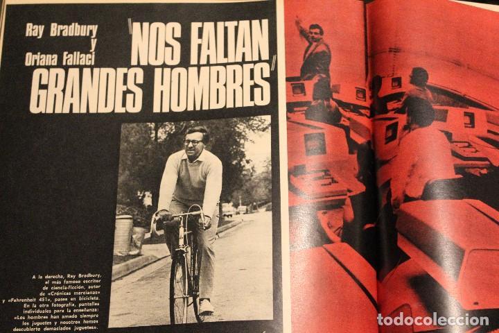 Coleccionismo de Revista Gaceta Ilustrada: GACETA ILUSTRADA 573 AÑO 1967 STALIN CHINA MAURICE CHEVALIER AUGER AMERICANOS RUSIA - Foto 8 - 202104648