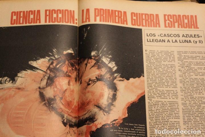 Coleccionismo de Revista Gaceta Ilustrada: GACETA ILUSTRADA 575 AÑO 1967 CAPOTE ONU ARMAMENTO NORTEAMERICA CULTURA RUSIA BALDWIN GUERRA ESPACIA - Foto 6 - 202105266
