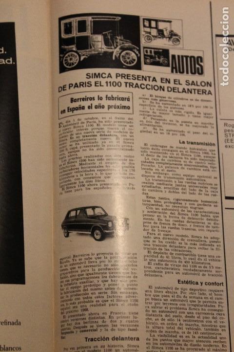 Coleccionismo de Revista Gaceta Ilustrada: GACETA ILUSTRADA 575 AÑO 1967 CAPOTE ONU ARMAMENTO NORTEAMERICA CULTURA RUSIA BALDWIN GUERRA ESPACIA - Foto 7 - 202105266