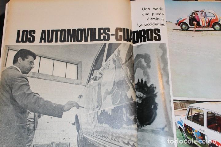 Coleccionismo de Revista Gaceta Ilustrada: GACETA ILUSTRADA 577 AÑO 1967 REZA PAHLEVI PHILBY BERGEN CINE AUTOMOVILES STALIN SUBNORMALES - Foto 10 - 202107628