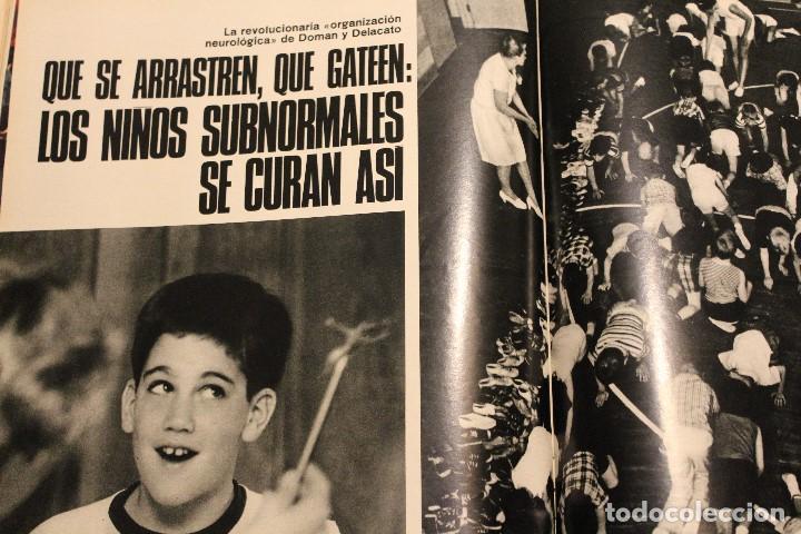 Coleccionismo de Revista Gaceta Ilustrada: GACETA ILUSTRADA 577 AÑO 1967 REZA PAHLEVI PHILBY BERGEN CINE AUTOMOVILES STALIN SUBNORMALES - Foto 6 - 202107628