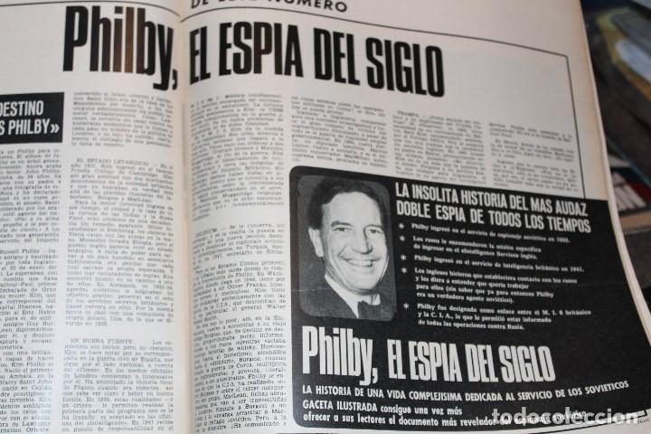 Coleccionismo de Revista Gaceta Ilustrada: GACETA ILUSTRADA 577 AÑO 1967 REZA PAHLEVI PHILBY BERGEN CINE AUTOMOVILES STALIN SUBNORMALES - Foto 8 - 202107628