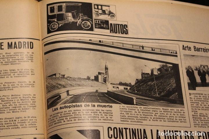 Coleccionismo de Revista Gaceta Ilustrada: GACETA ILUSTRADA 577 AÑO 1967 REZA PAHLEVI PHILBY BERGEN CINE AUTOMOVILES STALIN SUBNORMALES - Foto 9 - 202107628