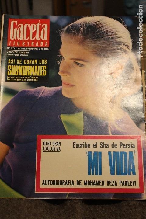 GACETA ILUSTRADA 577 AÑO 1967 REZA PAHLEVI PHILBY BERGEN CINE AUTOMOVILES STALIN SUBNORMALES (Coleccionismo - Revistas y Periódicos Modernos (a partir de 1.940) - Revista Gaceta Ilustrada)