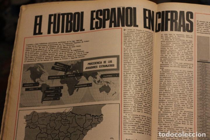 Coleccionismo de Revista Gaceta Ilustrada: GACETA ILUSTRADA 578 año 1967 FARAH DIBA URSS PHILBY ESPIA FUTBOL ESPAÑOL SHA IRAN - Foto 5 - 202108242
