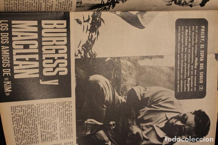 Coleccionismo de Revista Gaceta Ilustrada: GACETA ILUSTRADA 578 año 1967 FARAH DIBA URSS PHILBY ESPIA FUTBOL ESPAÑOL SHA IRAN - Foto 8 - 202108242