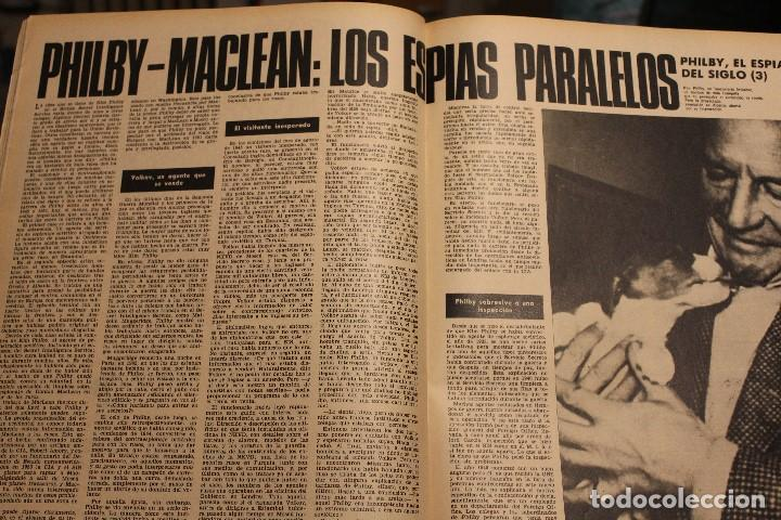 Coleccionismo de Revista Gaceta Ilustrada: GACETA ILUSTRADA 579 AÑO 1967 GUEVARA VIETNAM INGRID BERGMAN ANGLADE DESARROLLO FUMAR PHILBY - Foto 4 - 202108716