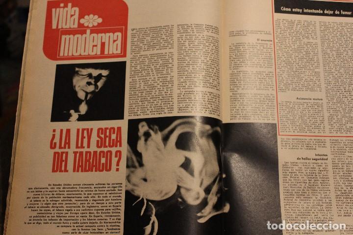 Coleccionismo de Revista Gaceta Ilustrada: GACETA ILUSTRADA 579 AÑO 1967 GUEVARA VIETNAM INGRID BERGMAN ANGLADE DESARROLLO FUMAR PHILBY - Foto 5 - 202108716