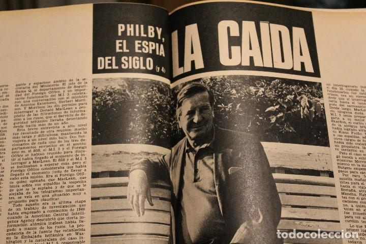 Coleccionismo de Revista Gaceta Ilustrada: GACETA ILUSTRADA 580 AÑO 1967 SANDIE SWAW BUMEDIAN ARGELIA CHICAGO COMPUTADOTRES COCHES LOREN PHILBY - Foto 5 - 202109538