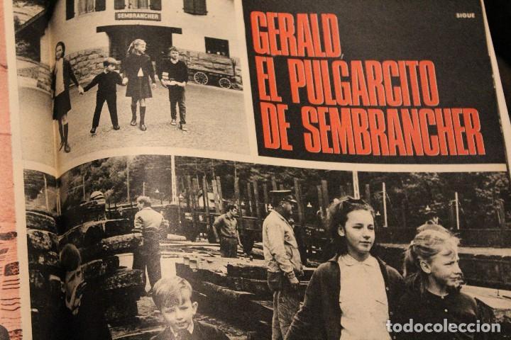 Coleccionismo de Revista Gaceta Ilustrada: GACETA ILUSTRADA 580 AÑO 1967 SANDIE SWAW BUMEDIAN ARGELIA CHICAGO COMPUTADOTRES COCHES LOREN PHILBY - Foto 6 - 202109538