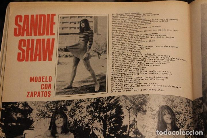 Coleccionismo de Revista Gaceta Ilustrada: GACETA ILUSTRADA 580 AÑO 1967 SANDIE SWAW BUMEDIAN ARGELIA CHICAGO COMPUTADOTRES COCHES LOREN PHILBY - Foto 7 - 202109538