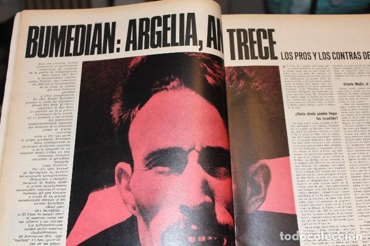 Coleccionismo de Revista Gaceta Ilustrada: GACETA ILUSTRADA 580 AÑO 1967 SANDIE SWAW BUMEDIAN ARGELIA CHICAGO COMPUTADOTRES COCHES LOREN PHILBY - Foto 3 - 202109538