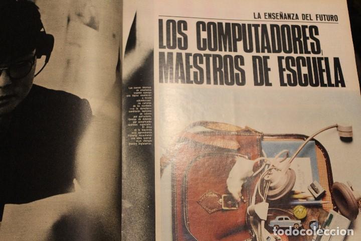 Coleccionismo de Revista Gaceta Ilustrada: GACETA ILUSTRADA 580 AÑO 1967 SANDIE SWAW BUMEDIAN ARGELIA CHICAGO COMPUTADOTRES COCHES LOREN PHILBY - Foto 11 - 202109538