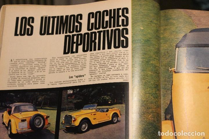 Coleccionismo de Revista Gaceta Ilustrada: GACETA ILUSTRADA 580 AÑO 1967 SANDIE SWAW BUMEDIAN ARGELIA CHICAGO COMPUTADOTRES COCHES LOREN PHILBY - Foto 4 - 202109538