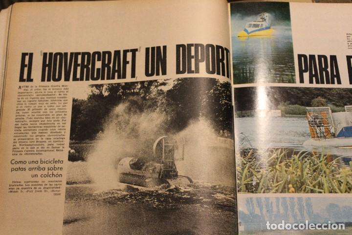 Coleccionismo de Revista Gaceta Ilustrada: GACETA ILUSTRADA 581 AÑO 1967 RHODESIA CARDINALE RUSOS HOVERCRAFT GUARDACOSTAS AUTOS VIETNAM BOSE - Foto 6 - 202110322