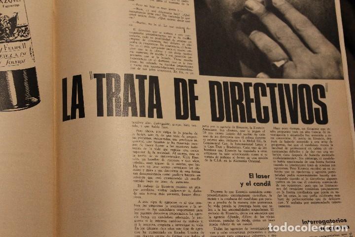Coleccionismo de Revista Gaceta Ilustrada: GACETA ILUSTRADA 581 AÑO 1967 RHODESIA CARDINALE RUSOS HOVERCRAFT GUARDACOSTAS AUTOS VIETNAM BOSE - Foto 10 - 202110322
