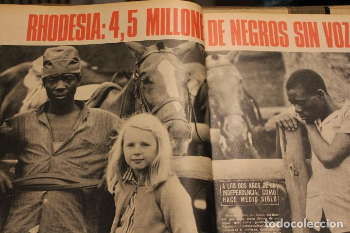 Coleccionismo de Revista Gaceta Ilustrada: GACETA ILUSTRADA 581 AÑO 1967 RHODESIA CARDINALE RUSOS HOVERCRAFT GUARDACOSTAS AUTOS VIETNAM BOSE - Foto 12 - 202110322