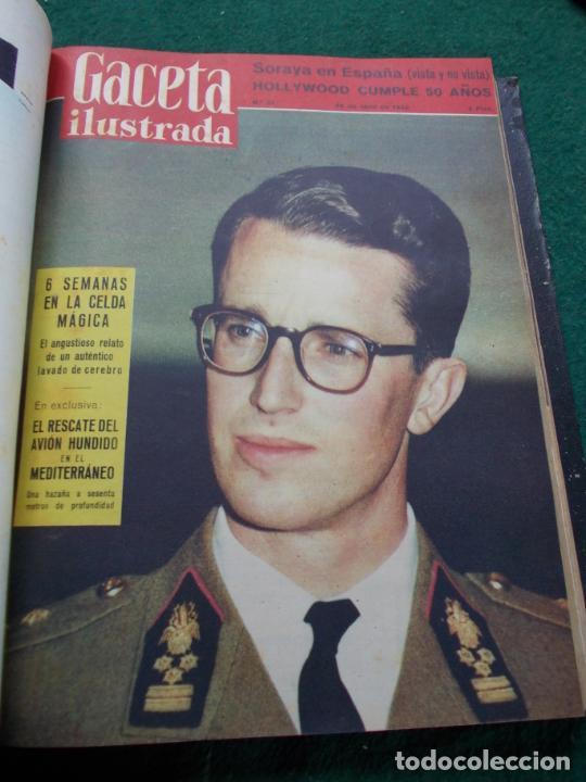 Coleccionismo de Revista Gaceta Ilustrada: LOTE DE REVISTAS GACETA ILUSTRADA DESDE ENERO A JUNIO DE 1.958 ENCUADERNADAS - Foto 9 - 202306140