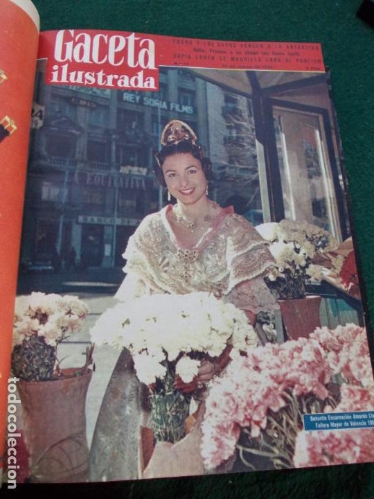 Coleccionismo de Revista Gaceta Ilustrada: LOTE DE REVISTAS GACETA ILUSTRADA DESDE ENERO A JUNIO DE 1.958 ENCUADERNADAS - Foto 15 - 202306140