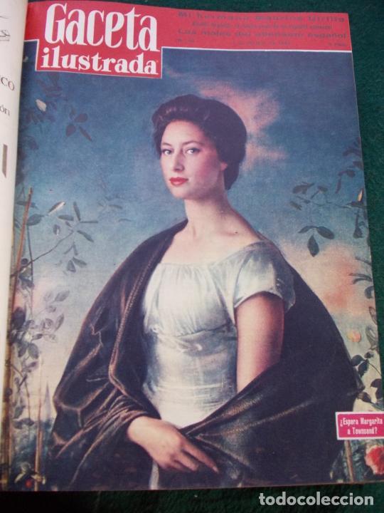 Coleccionismo de Revista Gaceta Ilustrada: LOTE DE REVISTAS GACETA ILUSTRADA DESDE ENERO A JUNIO DE 1.958 ENCUADERNADAS - Foto 21 - 202306140