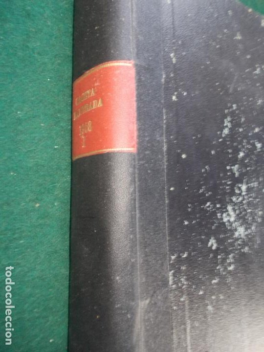 Coleccionismo de Revista Gaceta Ilustrada: LOTE DE REVISTAS GACETA ILUSTRADA DESDE ENERO A JUNIO DE 1.958 ENCUADERNADAS - Foto 26 - 202306140
