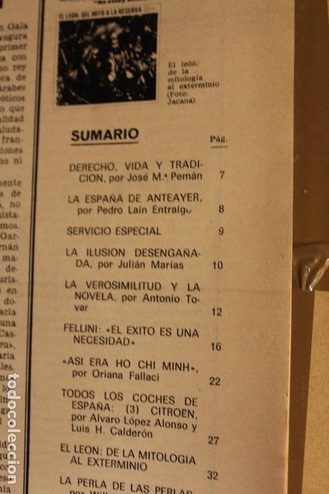 Coleccionismo de Revista Gaceta Ilustrada: GACETA ILUSTRADA Nº 676 AÑO 1969 / HO CHI MINH FELLINI CITROEN PERLAS LINDA JACKIE LEON ATLANTIDA - Foto 2 - 203010127