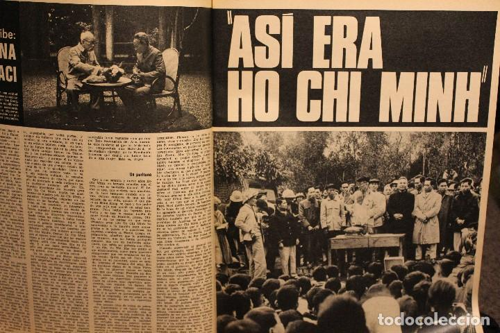 Coleccionismo de Revista Gaceta Ilustrada: GACETA ILUSTRADA Nº 676 AÑO 1969 / HO CHI MINH FELLINI CITROEN PERLAS LINDA JACKIE LEON ATLANTIDA - Foto 4 - 203010127