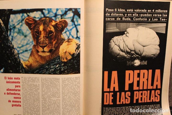 Coleccionismo de Revista Gaceta Ilustrada: GACETA ILUSTRADA Nº 676 AÑO 1969 / HO CHI MINH FELLINI CITROEN PERLAS LINDA JACKIE LEON ATLANTIDA - Foto 9 - 203010127