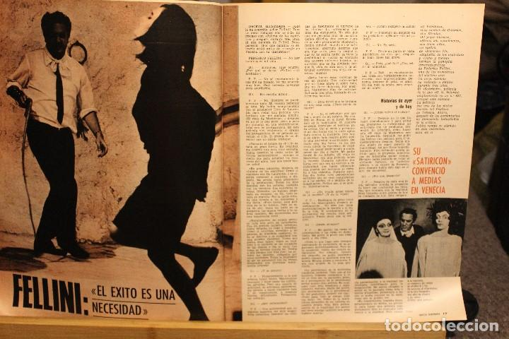 Coleccionismo de Revista Gaceta Ilustrada: GACETA ILUSTRADA Nº 676 AÑO 1969 / HO CHI MINH FELLINI CITROEN PERLAS LINDA JACKIE LEON ATLANTIDA - Foto 11 - 203010127