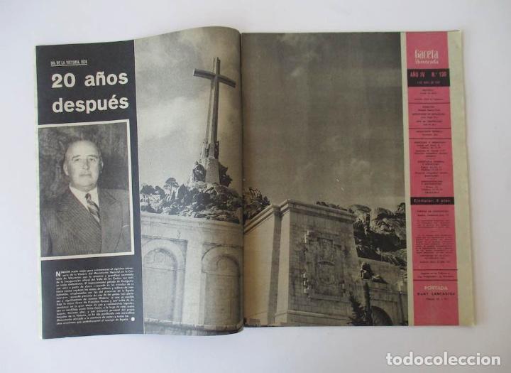 Coleccionismo de Revista Gaceta Ilustrada: GACETA ILUSTRADA - BURT LACASTER, 20 AÑOS FIN GUERRA CIVIL, EL SEAT 1800, BERNARD BUFFET... - Foto 3 - 204741843