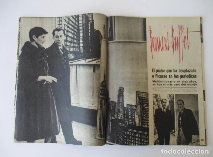 Coleccionismo de Revista Gaceta Ilustrada: GACETA ILUSTRADA - BURT LACASTER, 20 AÑOS FIN GUERRA CIVIL, EL SEAT 1800, BERNARD BUFFET... - Foto 5 - 204741843