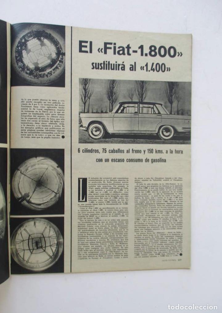 Coleccionismo de Revista Gaceta Ilustrada: GACETA ILUSTRADA - BURT LACASTER, 20 AÑOS FIN GUERRA CIVIL, EL SEAT 1800, BERNARD BUFFET... - Foto 6 - 204741843
