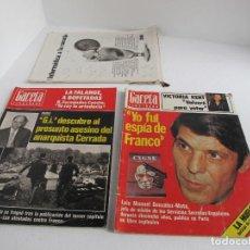 Coleccionismo de Revista Gaceta Ilustrada: GRAN LOTE DE 3 REVISTAS GACETA ILUSTRADA AÑ0 1976 / NO. 1049 Y NO. 1048 Y UNO MAS / VER FOTOS. Lote 204775320