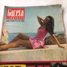 Coleccionismo de Revista Gaceta Ilustrada: GACETA ILUSTRADA- 1967- NUM.567. Lote 205510291