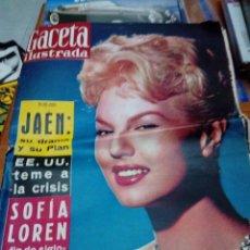 Coleccionismo de Revista Gaceta Ilustrada: GACETA ILUSTRADA. Nº 145. JULIO 1959. SOFÍA LOREN FIN DE SIGLO. EE. UU. TEME A LA CRISIS. EST1B2. Lote 207691783