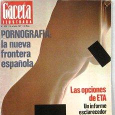 Collectionnisme de Magazine Gaceta Ilustrada: GACETA ILUSTRADA Nº 1097 - 16 OCTUBRE 1977 - REVISTA. Lote 208225890