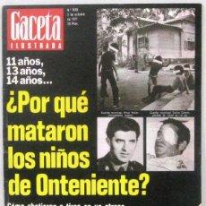 Collectionnisme de Magazine Gaceta Ilustrada: GACETA ILUSTRADA Nº 1095 - 2 OCTUBRE 1977 - REVISTA. Lote 208226106