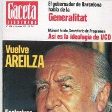 Collectionnisme de Magazine Gaceta Ilustrada: GACETA ILUSTRADA Nº 1096 - 9 OCTUBRE 1977 - REVISTA. Lote 208226281