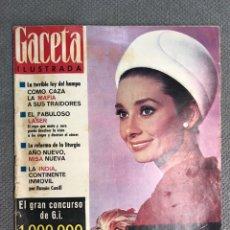 Collectionnisme de Magazine Gaceta Ilustrada: GACETA ILUSTRADA NO.431, AUDREY HEPBURN,. MAFIA, LÁ TERRIBLE LEY DEL HAMPA (9 DE ENERO DE 1965). Lote 213206033