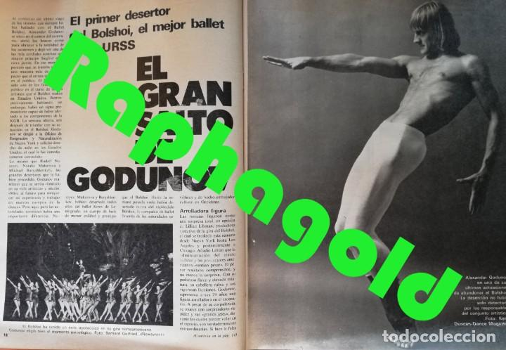 Coleccionismo de Revista Gaceta Ilustrada: Revista Gaceta Ilustrada nº 1196 Lola Forner Miss España Delibes Alexander Godunov Rosalyn Carter - Foto 3 - 213535538