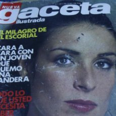 Collectionnisme de Magazine Gaceta Ilustrada: GACETA ILUSTRADA N1 1411 AMPARO MUÑOZ MIGUEL BOSE 1983. Lote 214177615