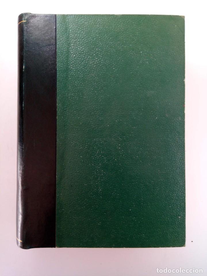 Coleccionismo de Revista Gaceta Ilustrada: GACETA DE LA PRENSA ESPAÑOLA NÚMEROS DEL 186 AL 198 ENCUADERNACIÓN DE LUJO LOMO DE PIEL - Foto 5 - 216691656