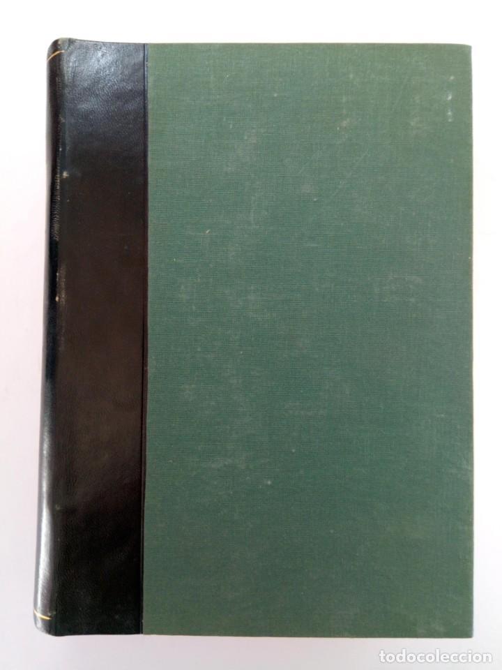 Coleccionismo de Revista Gaceta Ilustrada: GACETA DE LA PRENSA ESPAÑOLA NÚMEROS DEL 210 AL 215 ENCUADERNACIÓN DE LUJO LOMO DE PIEL - Foto 4 - 216692040