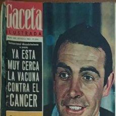 Collectionnisme de Magazine Gaceta Ilustrada: GACETA ILUSTRADA -- Nº 441 -- 20/3/1965. Lote 217401122
