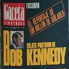 Coleccionismo de Revista Gaceta Ilustrada: GACETA ILUSTRADA -- Nº 630 -- 3/11/1968. Lote 217401142
