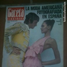 Coleccionismo de Revista Gaceta Ilustrada: GACELA ILUSTRADA - REVISTA Nº 816.MODA - 1972. Lote 218510760