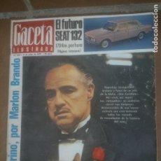 Coleccionismo de Revista Gaceta Ilustrada: GACELA ILUSTRADA - REVISTA Nº 822.SEAT 132 - 1972. Lote 218511015