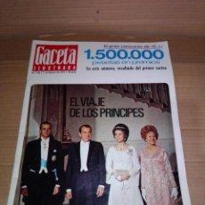 Coleccionismo de Revista Gaceta Ilustrada: GACETA ILUSTRADA NÚM 748. 1971. REYES DE ESPAÑA - SERRAT - PETRÓLEO - LA ANTI-FALDA.... Lote 218560653