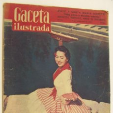 Coleccionismo de Revista Gaceta Ilustrada: REVISTA GACETA ILUSTRADA Nº 57 9 NOVIEMBRE 1957 MARIEMMA,BRIGITTE BARDOT. Lote 218609241